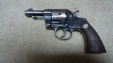 """RARE NEW NAVY .38 COLT CALIBER MODEL WITH EXTREMELY SCARCE 3"""" BARREL, #79XXX MADE 1897"""
