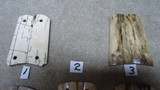 GORGEOUS WOOLYMAMMOTH IVORY GRIPS FOR COLT (AND OTHER) MODEL 1911 FULL SIZE AUTO PISTOLS - 2 of 3
