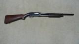 SELDOM SEEN WINCHESTER MODEL 25, 12 GA.MILITARY RIOT GUN