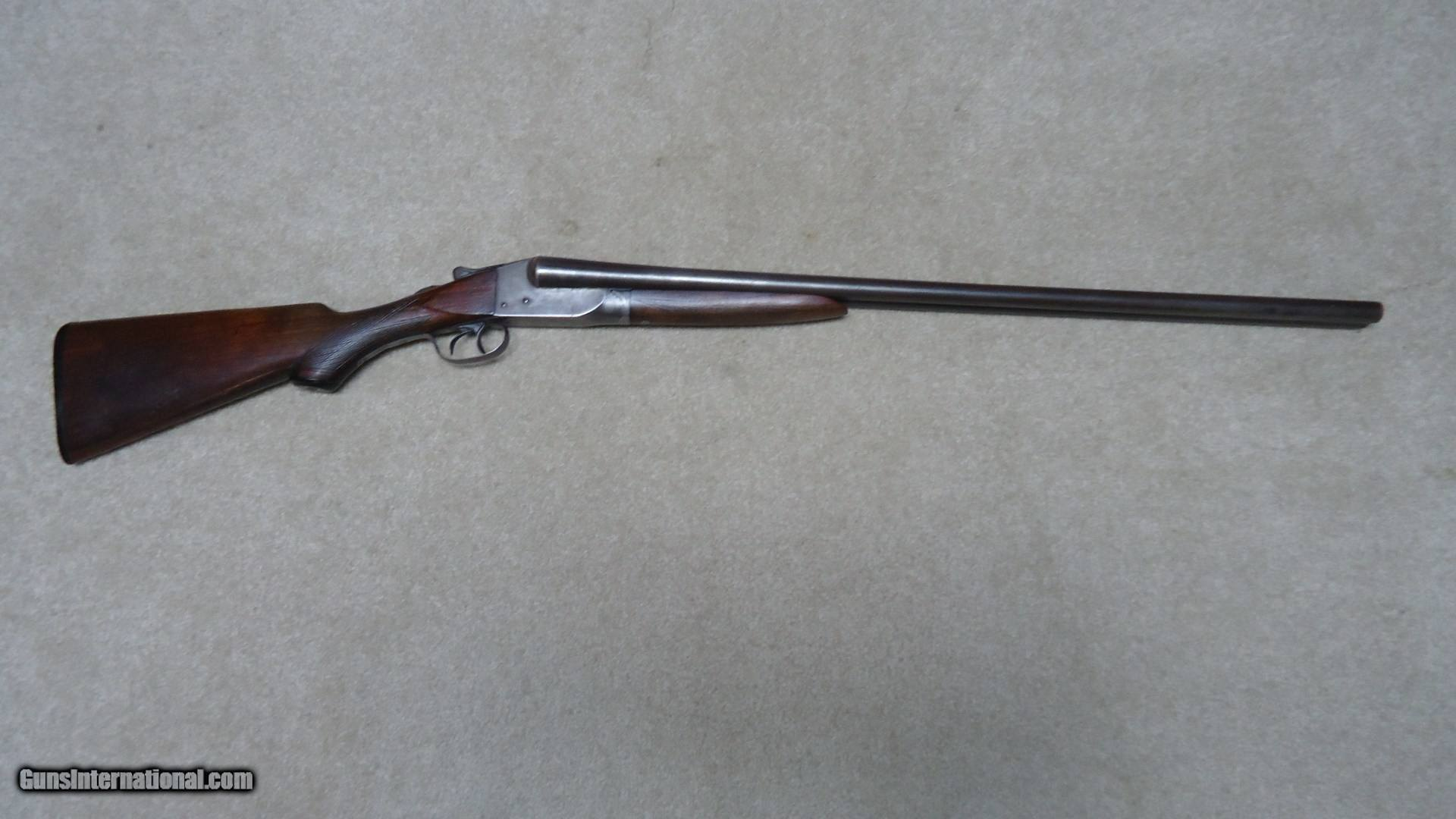 CLASSIC ITHACA DOUBLE BARREL SHOTGUN, SCARCE 16 GAUGE WITH 28