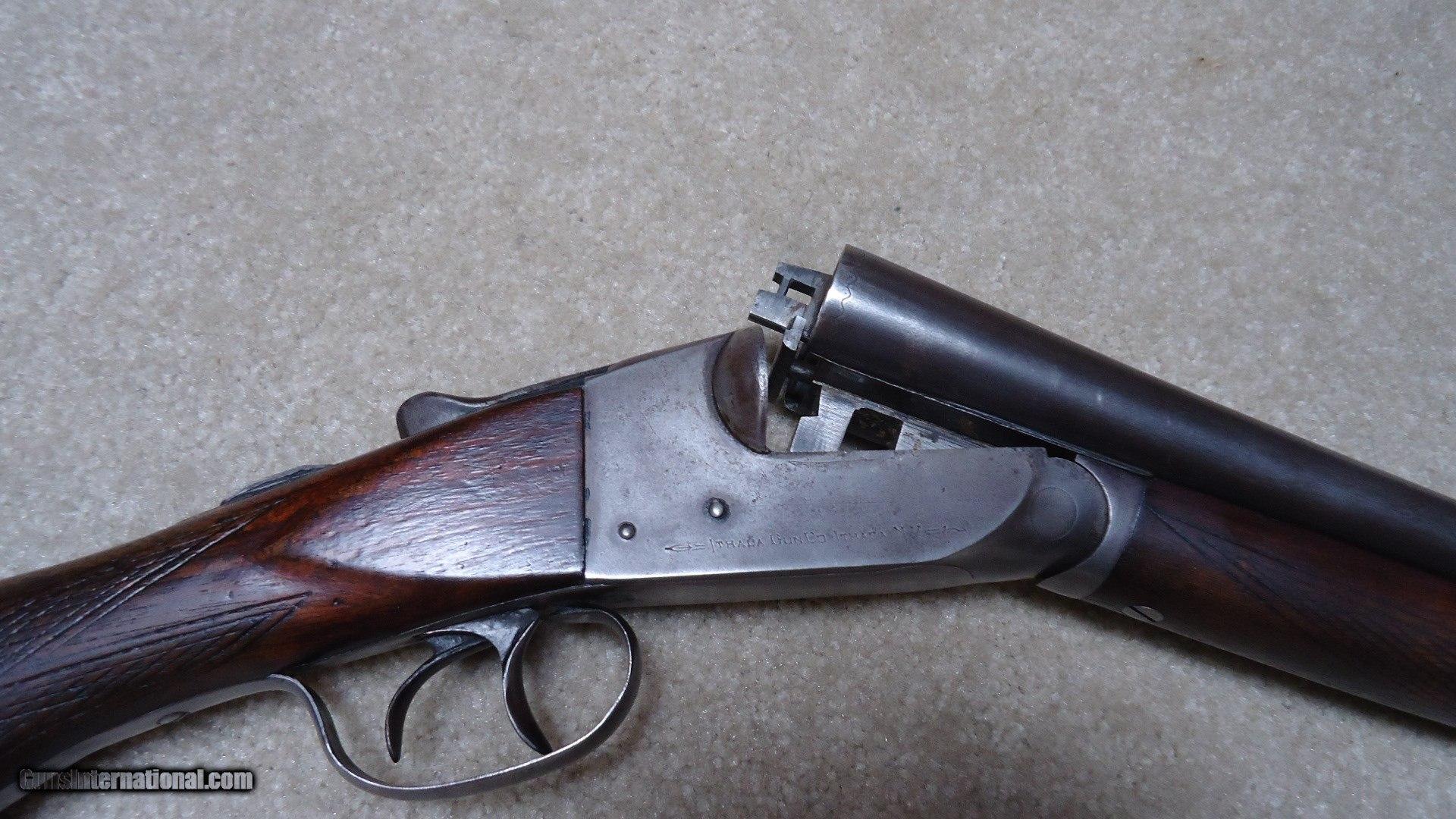 CLASSIC ITHACA DOUBLE BARREL SHOTGUN, SCARCE 16 GAUGE WITH