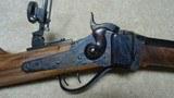 "UNUSUAL CUSTOM C. SHARPS ARMS, BIG TIMBER, MONTANA MADE 1874 .45-70, 28"" HALF OCTAGON SPORTER - 3 of 20"