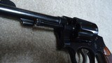 """EXCELLENT PRE-WAR .38 MILITARY & POLICE MODEL 1905, 4TH CHANGE, .38 SPEC., 4"""" BARREL, #460XXX, MADE C. 1923-1924 - 16 of 16"""