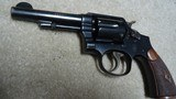 """EXCELLENT PRE-WAR .38 MILITARY & POLICE MODEL 1905, 4TH CHANGE, .38 SPEC., 4"""" BARREL, #460XXX, MADE C. 1923-1924 - 10 of 16"""