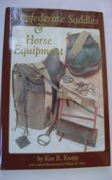 Confederate saddle that looks exactly like that pictured on page 61 of Confederate Saddles and Horse Equipment, by Ken R. Knopp - 12 of 15
