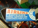 1937 Federal Airline 22 long rifle xcess speed lead lubricated cartridges - 11 of 15