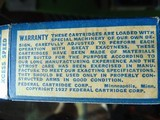 1937 Federal Airline 22 long rifle xcess speed lead lubricated cartridges - 12 of 15