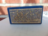 1937 Federal Airline 22 long rifle xcess speed lead lubricated cartridges - 3 of 15