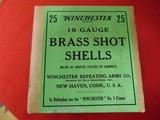 Winchester Brass Shot Shells16 gauge