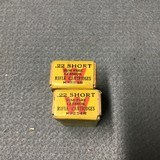 2 Boxes of Winchester 22 shorts Lesmok Rifle Cartridges