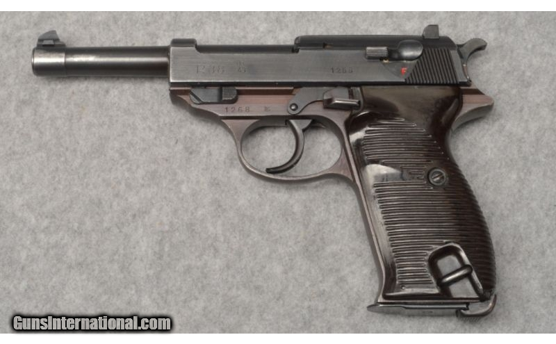 Walther P38 ~ 9mm Parabellum
