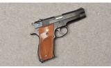 smith & wessonmodel 39 2semi auto pistol9mm luger