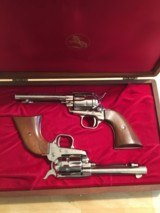 Colt Frontier Scout cased consecutive set - 1 of 9
