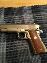 Early Colt Combat Commander 45 Satin Nickel - 4 of 12
