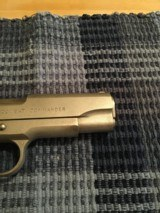Early Colt Combat Commander 45 Satin Nickel - 3 of 12