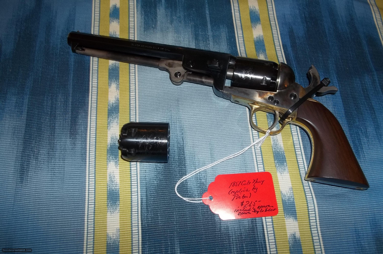 1851 Colt Navy  36 Caliber Replica by Pietta