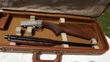 Browning Grade VI The barrel is marked, .22 Long Rifle, SA with old Hartman Case