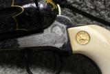 Master Engraved Gold Inlaid Screwless Frame Colt from the Colt Custom Shop - 13 of 15