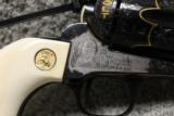 Master Engraved Gold Inlaid Screwless Frame Colt from the Colt Custom Shop - 14 of 15