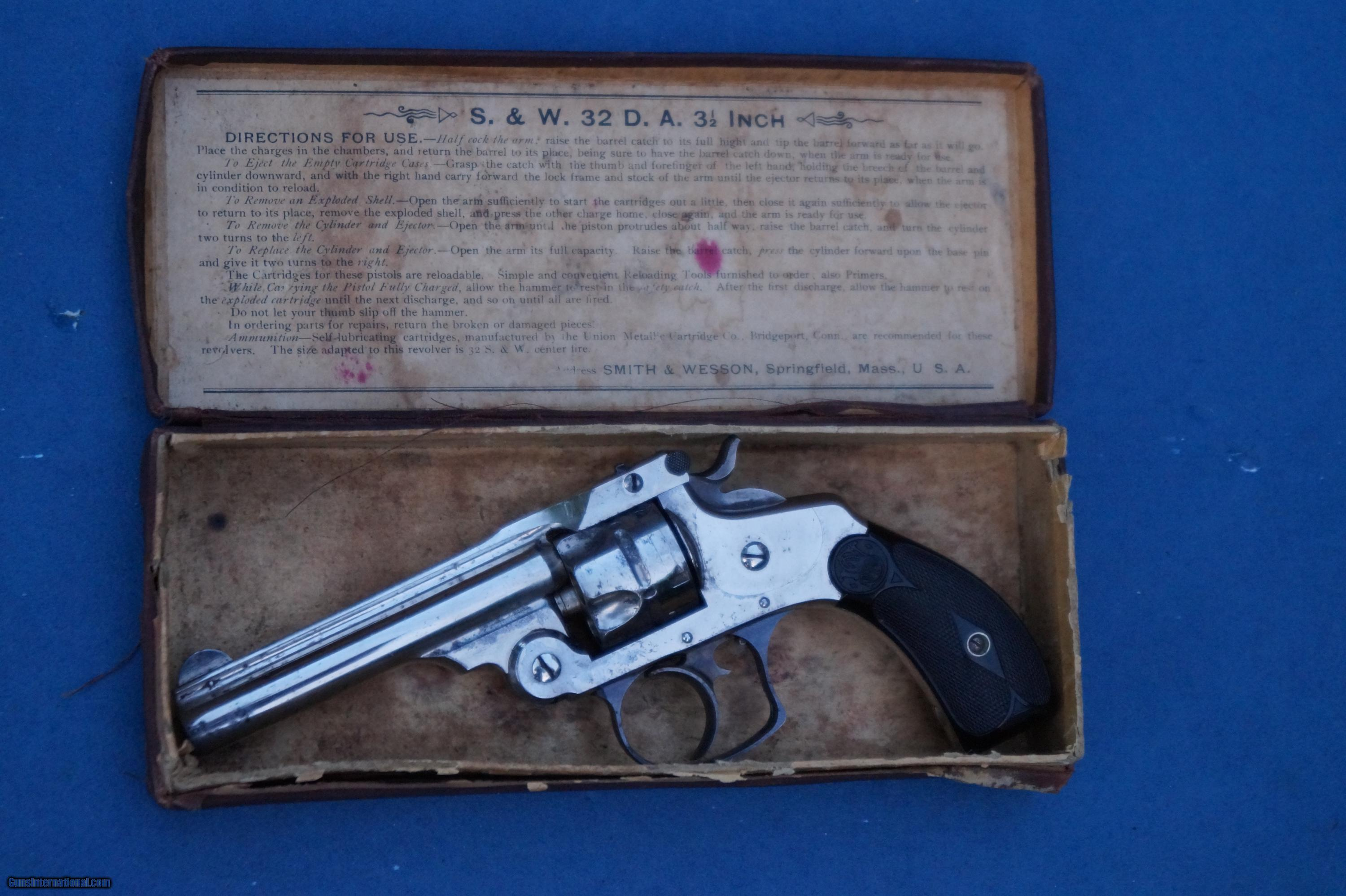 smith and wesson serial number prefix
