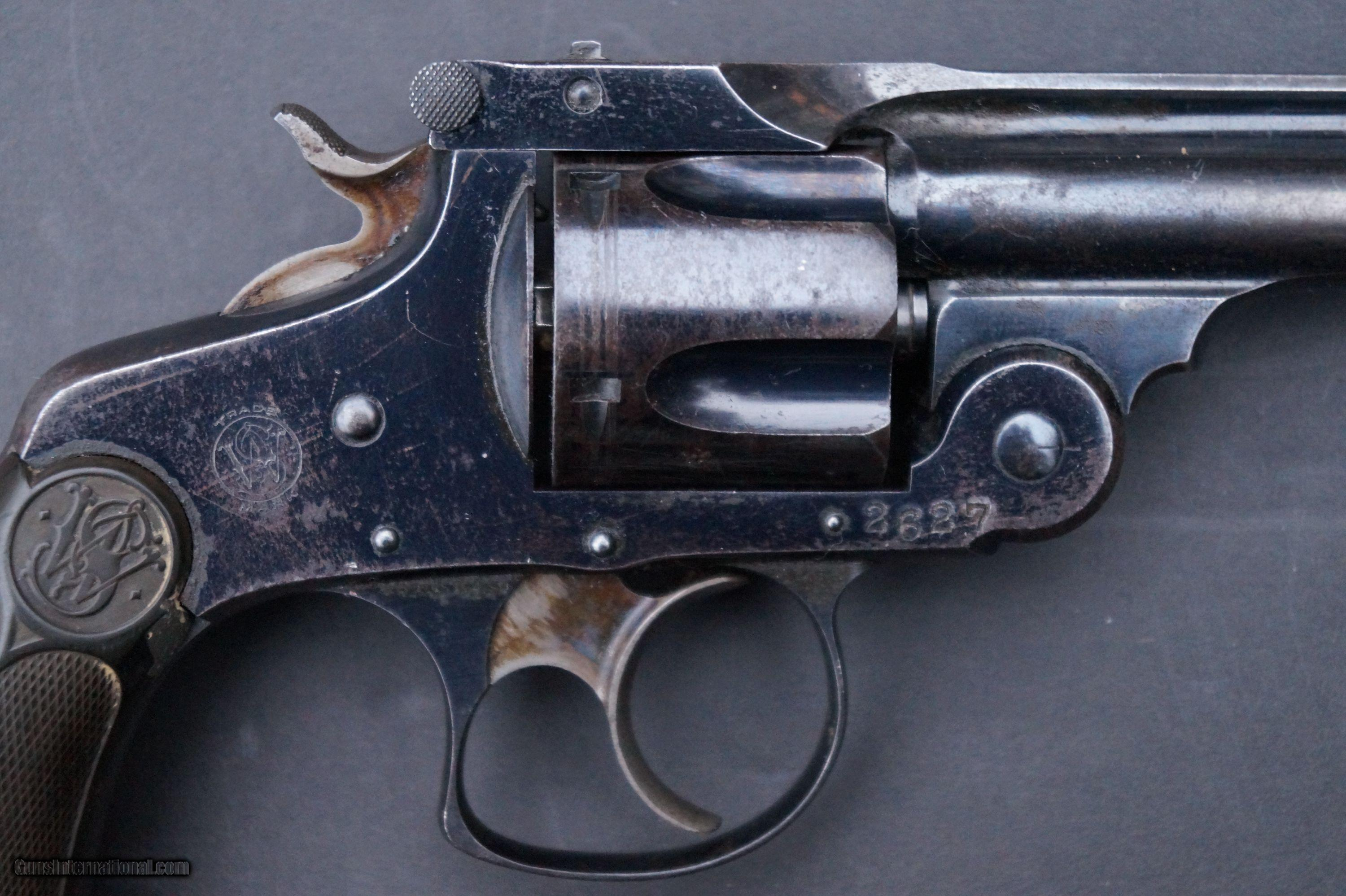 Double Action Blued Pocket Revolver