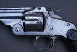 Smith and Wesson New Model Number 3 Revolver in .44 Russian, Not Colt SAA