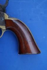 Colt 1849 Pocket Revolver w/Rare 6 Shot Cylinder - 3 of 7