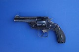 Smith and Wesson 38 Double Action 3rd Model Revolver Blued
