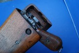 Antique Model 1896 C96 Cone Hammer Broomhandle Mauser with Matching Holster/Stock - 11 of 16