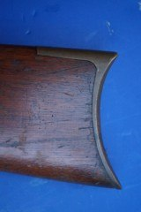 Nice Early Winchester Model 1866 Rifle, Untouched Attic Find w/Henry Marked Barrel - 16 of 20