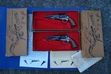 Consecutive Serial Numbered Pair of Colt 1862 .36 Pocket Percussion Revolvers by Uberti / Western Arms w/Orig.Boxes