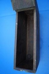 Rare Wooden Ammunition Box For US Maxim Model 1904 Machine Gun - 7 of 13