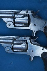 """Consecutive 1 Digit Serial Numbered Pair (Nos """"7"""" & """"8"""") of S&W Single Action 2nd Model Revolvers - 4 of 20"""