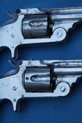 """Consecutive 1 Digit Serial Numbered Pair (Nos """"7"""" & """"8"""") of S&W Single Action 2nd Model Revolvers - 5 of 20"""