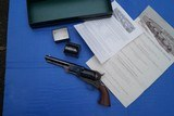 Rare USFA United States Firearms Company Colt 3rd Model Dragoon Reproduction Revolver with Box & Paperwork - 12 of 14