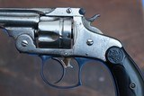 """Early 1st Model Smith and Wesson 38 Double Action Revolver, Serial Number """"313"""". - 2 of 11"""