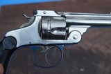 """Early 1st Model Smith and Wesson 38 Double Action Revolver, Serial Number """"313"""". - 10 of 11"""