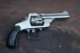 """Early 1st Model Smith and Wesson 38 Double Action Revolver, Serial Number """"313"""". - 11 of 11"""