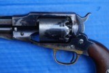 Remington New Model 1863 Army Revolver w/Early German Silver Front Sight Not Colt 1860