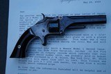 Very Early Smith and Wesson Model 1, 2nd Issue Revolver w/Factory Letter