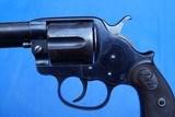 Colt Model 1878 DA Revolver in Rare Caliber, .476 Eley