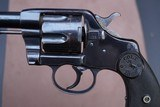 Antique, Early Civilian Colt Model 1892 New Army 38 Double Action Revolver Made in 1894