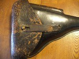 Luger 1933 Police Holster with matching mag tool