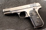 COLT HAMMERLESS 1908 EARLY PRODUCTION -LOTS OF PHOTOS - 2 of 11