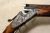 Pre-War MERKEL 202E highly engraved and optioned 20ga MUST SEE PHOTOS - 9 of 26