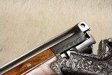 Pre-War MERKEL 202E highly engraved and optioned 20ga MUST SEE PHOTOS - 6 of 26