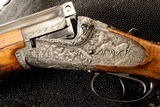 Pre-War MERKEL 202E highly engraved and optioned 20ga MUST SEE PHOTOS - 11 of 26