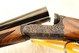 PAIR of RIZZINI Round Body Engraved 28ga & 410 MUST SEE PICS - 3 of 26