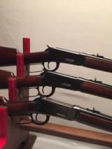 Winchester Flat Band 3 gun set-Wincester MOD 94 Carbine Flat Band all 3 Calibers