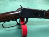 """""""HIGH CONDITION"""" WINCHESTER MOD 1894 SADDLE RING CARBINE IN DESIRABLE 38-55"""